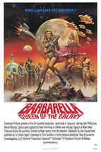 Barbarella Jane Fonda John Phillip Law Sci-Fi Classic Cult 24x18 Poster - $23.99