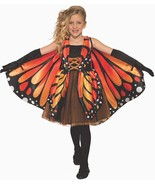 Butterfly Girl Animal Insect Monarch Cute Fancy Dress Up Halloween Child Costume - $34.99
