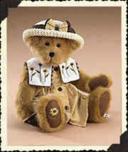 "Boyds Bears ""Susan B. Bearybloom"" 16"" Plush Bear - #904500 - NWT- 2007 - Retire - $39.99"