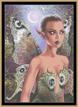 Dusk fairy cross stitch chart Mystic Stitch - $14.40