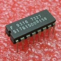 9316 Fairchild 4-Bit Counter IC DIP 14 Pin Ceramic - NOS Qty 1 - $4.74