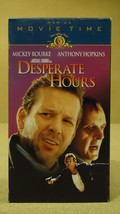 MGM Desperate Hours VHS Movie  * Plastic * - $4.69
