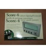 Perfect Solutions Score-4 Digital Scoreboard 4 ... - $23.75