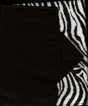 Zebra Design Custom Made Apple iPad Folio Cover Case W/Velco Snap Brand New  - $29.95