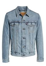 Levi's Men's Cotton Button Up Denim Jeans Trucker Jacket Light Blue 723340232 image 1