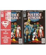 DC Justice League America #70 Lot Both 1st & 3rd Printings Funeral For A Friend - $19.95
