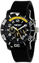 Invicta IBI-41701-001 I By Mens 41701-001 Chronograph Black Stainless Steel - $98.99