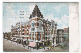 Opera House Theater Block Denver Colorado 1911 postcard - $5.94