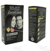 2 X hair dye color Silky Professional Color Hair Cream natural black hai... - $39.89
