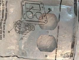 EGS 503536 Metal Raised Surface Duplex Receptacle Eletric Box Cover image 5