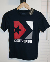 Converse Boys Kids  Chevron Box  T-Shirt  Navy Sizes M - L - XL - $19.99