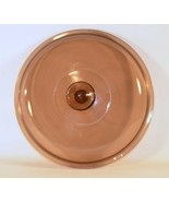"""Vintage Pyrex Vision Amber Replacement Lid 10"""" - £9.02 GBP"""