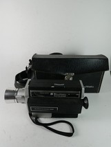 Bell & Howell Super 8 Zoom 1201 Movie Camera With Leather Case Bag - $28.66