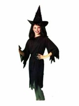 xcg242 Child Bewitched Black WITCH Halloween Costume Small 4-6 - $26.13