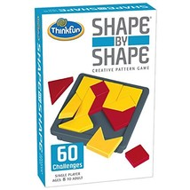 Think Fun Shape by Shape Creative Pattern Logic Game For Age 8 to Adult ... - $21.59