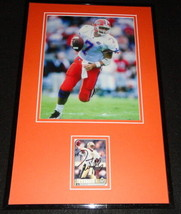 Danny Wuerffel Signed Framed 11x17 Photo Display Florida Saints - $65.09