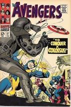 The Avengers Comic Book #37 Marvel Comics 1967 FINE+ - $36.18