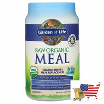 Meal Replacement Garden Of Life Raw Organic Meal Shake Meal Vanilla 2lb 2oz 969g - $75.21
