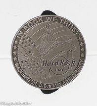Hard Rock Cafe Washington D.C. 21st Anniversary Pin Pewter Limited 1000 - $15.84