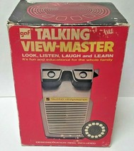 Vintage GAF Talking Viewmaster, Original Foam Packaging & Box, Free Ship... - $29.99