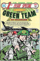1st Issue Special Comic Book #2 The Green Team DC Comics 1975 VERY FINE+ - $10.23
