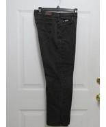 New Sz 8P Lee Womens Factory Faded Black Straight Leg Relax Waist 30 x 2... - $7.99