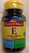 Nature Made Vitamin E 400 IU, Helps Maintain Healthy Heart, 100 counts - $22.10