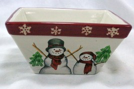 St Nicholas Square 2013 Yuletide Square Cereal Bowl - $7.61