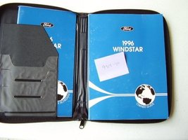 1996 Ford Windstar Owners Manual [Paperback] Auto Manual - $6.34