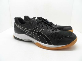 Asics Women's GEL-Rocket 8 Volley Ball Shoes B756Y Black/White/Gum 12M - $52.24