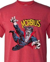 Morbius T Shirt marvel comics villain vampire vintage distressed graphic tee image 2