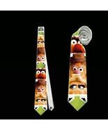 necktie piggy kermit animal gonzo fozzie bear  muppet muppets tie - $22.00