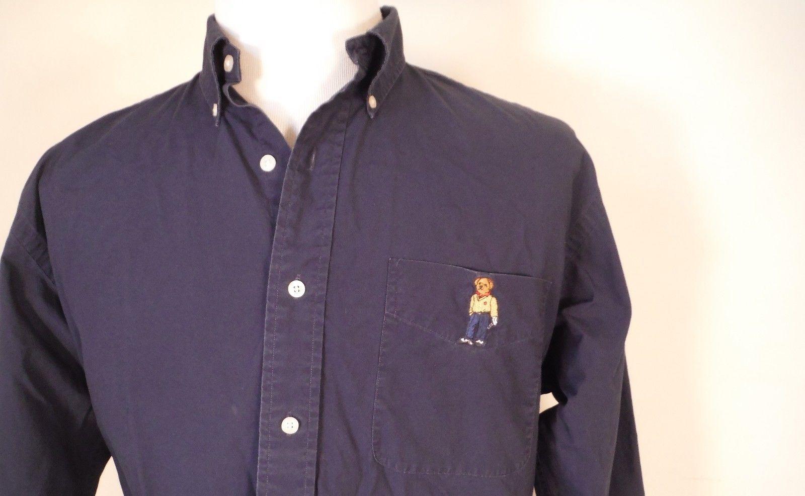 cdca9e961 Vintage Mens Ralph Lauren Golf Teddy Bear and 50 similar items. S l1600