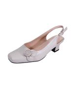 PEERAGE Cheryl Women Wide Width Slingback Comfort Dress Low Heel Shoes  - $89.95