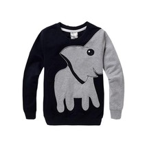 Elephant children kids boys girl Sweatshirts Casual children baby sweate... - $22.97 CAD+