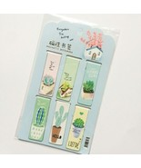 Aihao® 6pcs/Set Cactus Magnetic Bookmark Cute Green Plants Book Mark For... - $3.89