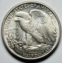 1944 Walking Liberty Half Dollar 90% Silver Coin Lot# A 217 image 2