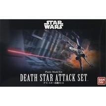 "Bandai Hobby Star Wars 1/144 Plastic ModelDeath Star Attack Set ""Star Wars"" - $43.63"