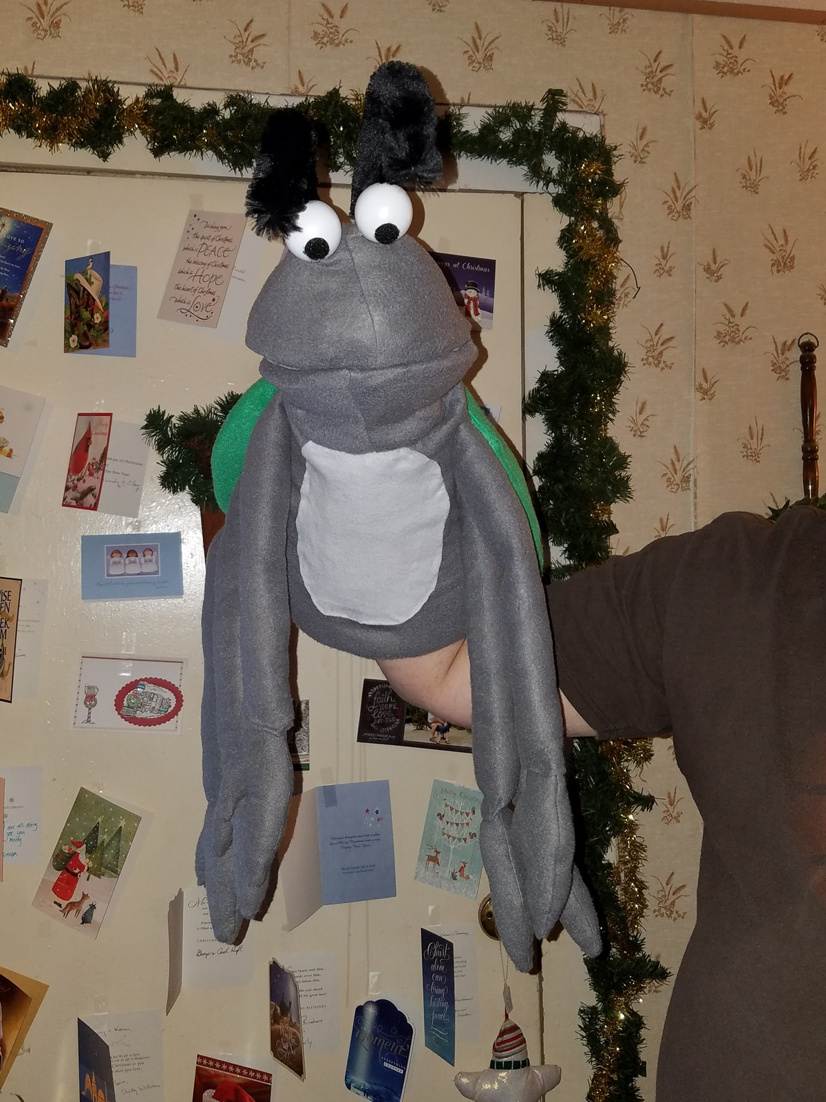 "MADE TO ORDER: Professional ""Bug"" Muppet Style Ventriloquist Puppet"