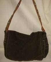 Fossil Authentic Style1954 Fabric fully lined Hand Bag With Metal Detail... - $29.69