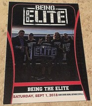 All In Being The Elite #32 Trading Card, Kenny Omega, Young Bucks, Marty... - $13.78