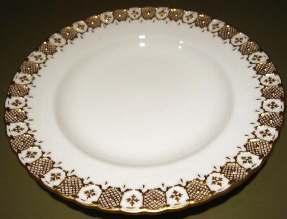 Royal Crown Derby HERALDIC Pastry Bread Plate English China