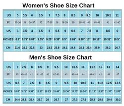 Womens mens shoe charts thumb200