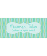 Bonanza Booth Banner- Teal and Green Dots - $1.79