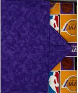 Los Angeles Lakers Design Custom Made Apple iPad Folio Cover Case W/Velc... - $29.95