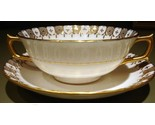 Heraldic cream soup cup   saucer thumb155 crop