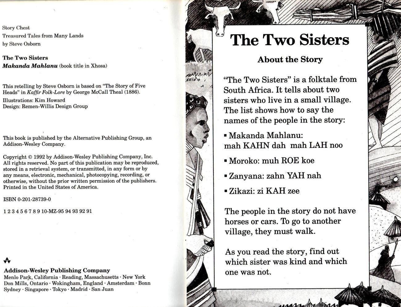 "Story Chest ""The Two Sisters""- Folk Tale From South Africia"