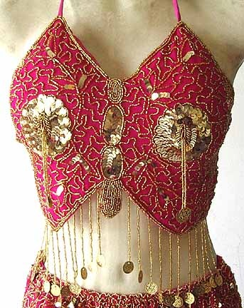 Primary image for Belly Dancing Costume Dress GG Magenta