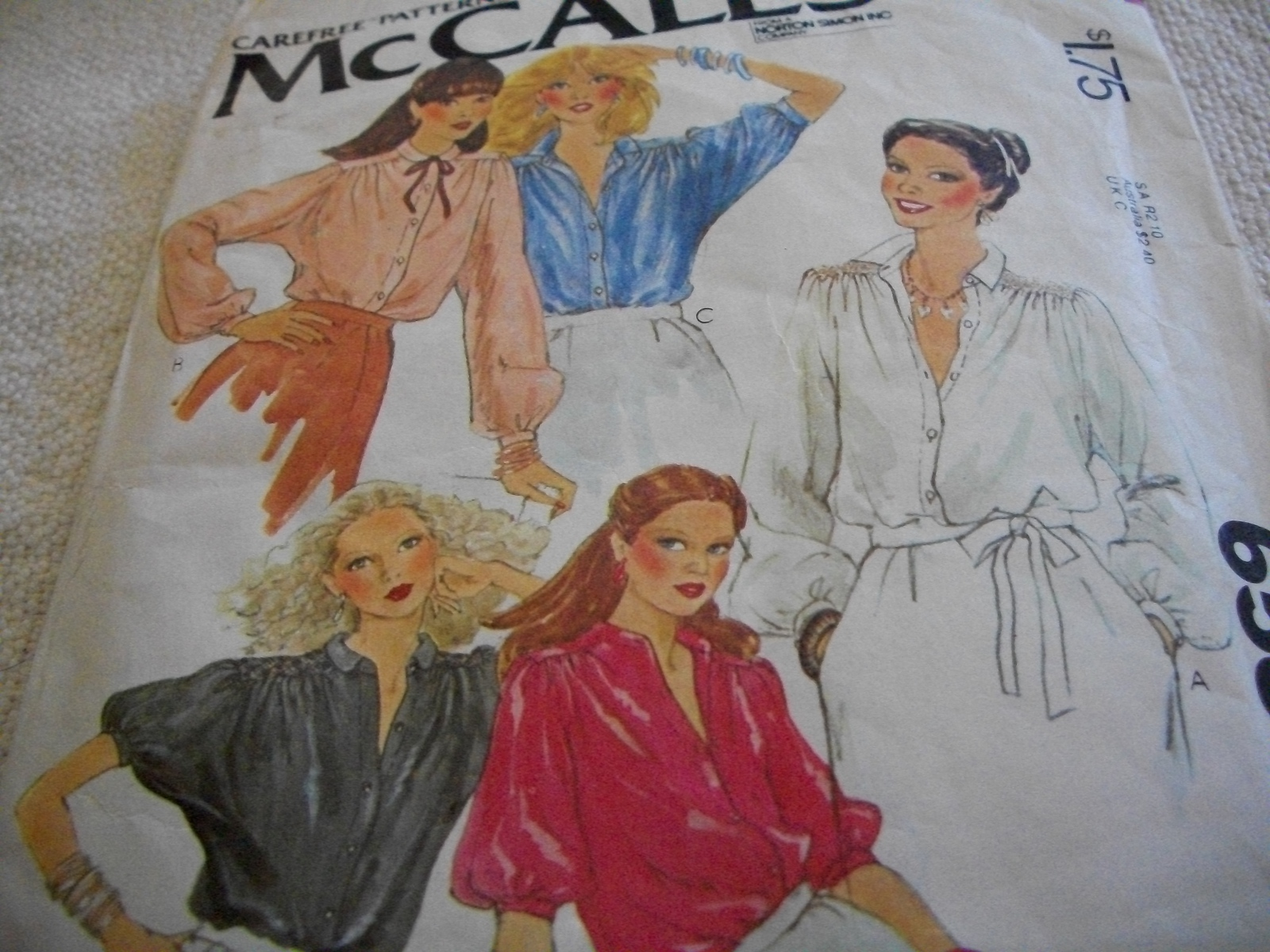 Primary image for Misses' Set of Blouses Pattern McCall's 6536