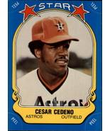 1981 Fleer Star Stickers #35 Cesar Cedeno NM-MT Astros - $0.99